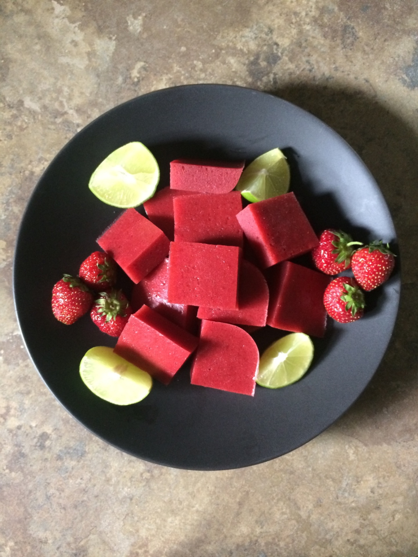 Strawberry-Lime Gummies