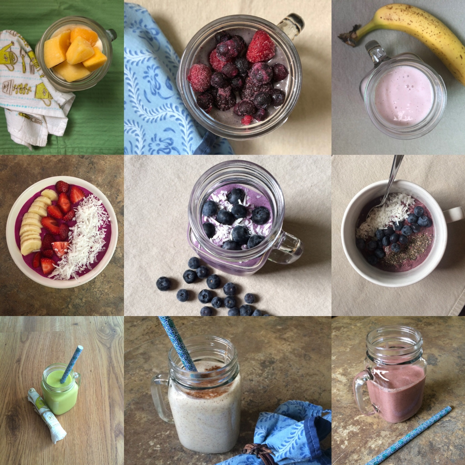 Smoothie Recipe Round-Up!